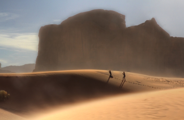 Photographers in Monument Valley