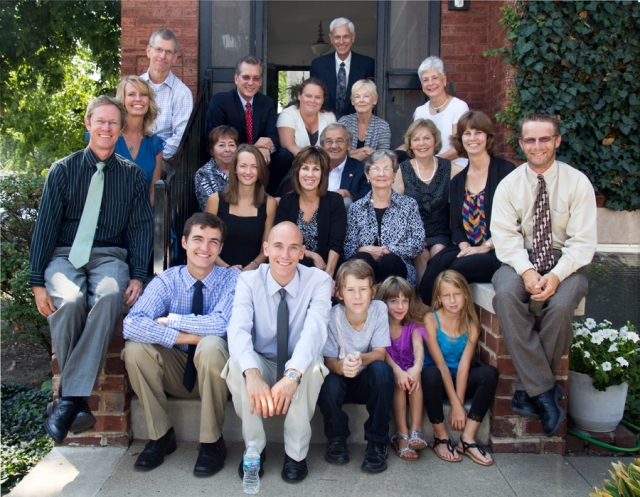 A family photo, my Dad's funeral