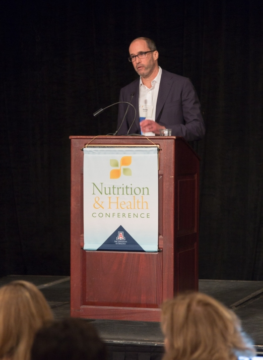 Aaron Katz, MD gives a great talk on prostate cancer and nutrition.