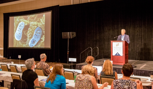 Robert Rountree, MD talks about taking care of our mitochondria...those aren't footprints!