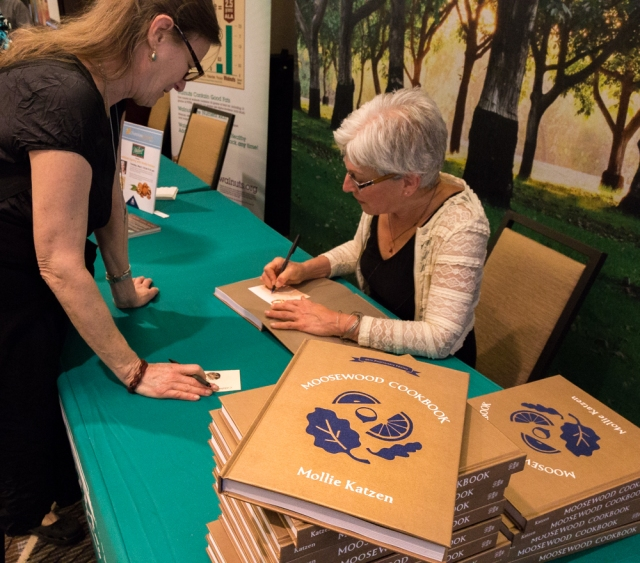 Book signing by Mollie Katzen