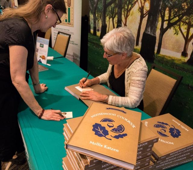 Book signing by Mollie Katzen